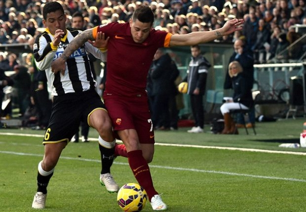 Udinese 0-1 AS Roma Half Time