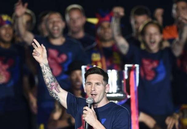 Kebanggan Enrique Tidak Membuat Messi Kagum