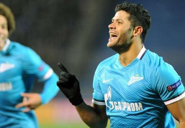 Hulk Beri Kepastian Fit Saat Akan Kontra Olympique Lyon